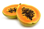Papaya fruit flour
